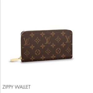Zippy wallet Louise Vuitton